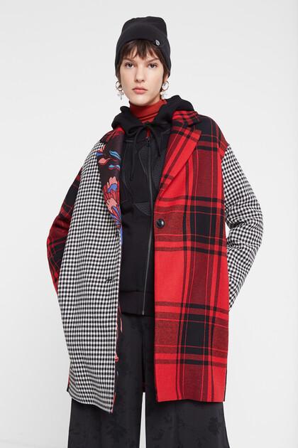 Manteau léger à patch
