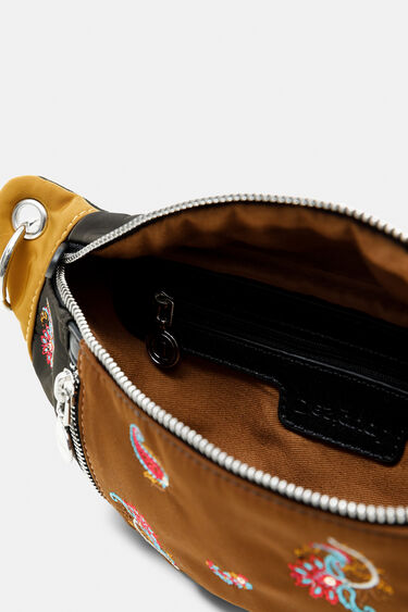 Bicolour paisley bum bag zippers | Desigual
