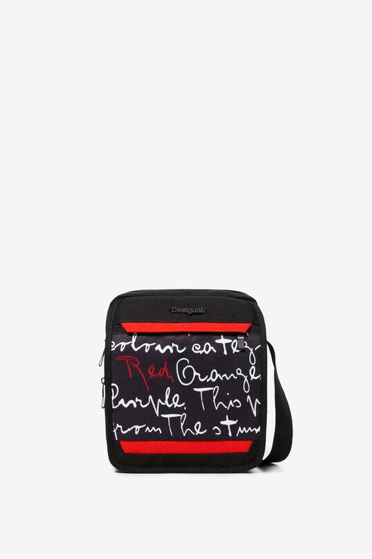 Sac bandoulière noir bolimanique Xelo | Desigual
