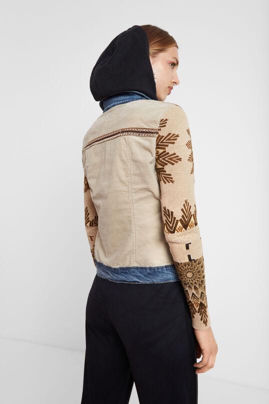Jean corduroy jacket | Desigual