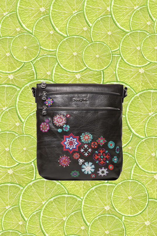 Camel sling bag square triple outer compartment | Desigual