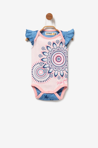 Baby Bodysuit with Poppers Maisterra