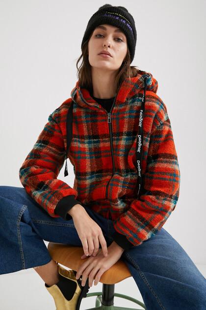 Oversize hooded jacket