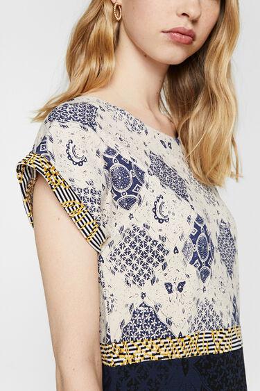 Vestit patch estampat geomètric | Desigual