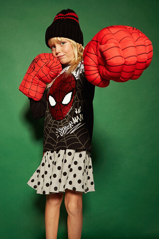Sequin Spider-Man T-shirt