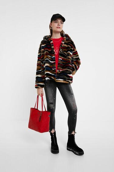 2 in 1 shopping bag | Desigual