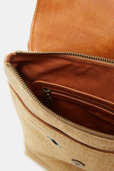 Canvas backpack mandalas   Desigual