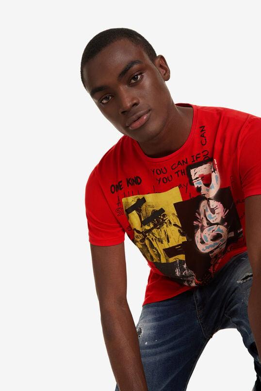 T-Shirt im Rockerlook Sufan | Desigual