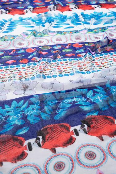 Foulard imprimé marin | Desigual