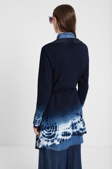 Tie-dye jumper jacket   Desigual