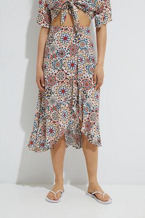 Flounced skirt mandalas