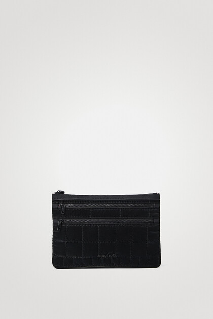 Long padded coin purse