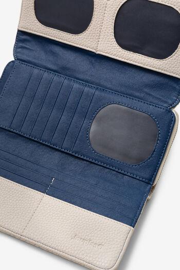 Coin purse in logomania patch | Desigual