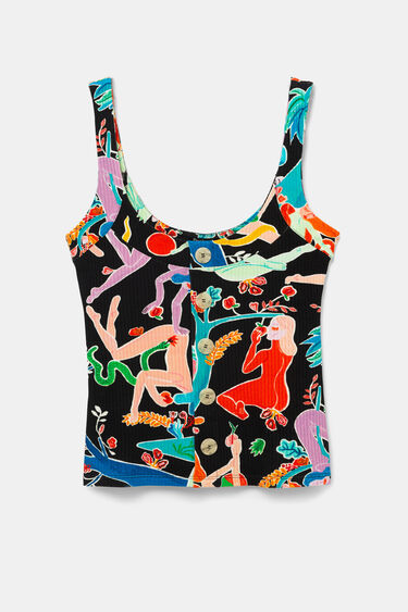 Tank top eco T-shirt | Desigual