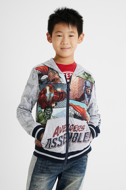 Omkeerbaar sweatshirt The Avengers