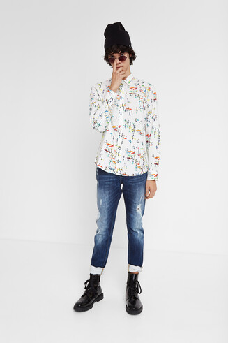 Camisa estampado surf