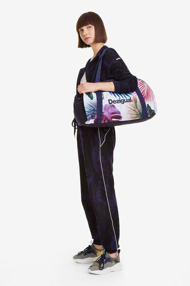 Tropical Gym Bag Victoria Bio Patch | Desigual