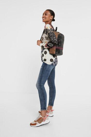 Medium boho backpack | Desigual