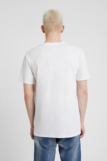T-shirt 100% coton nouveau logo | Desigual