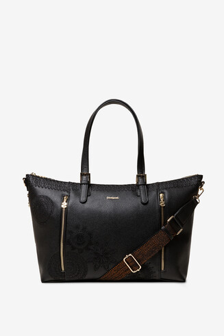 Triple Strap Bag Dark Amber Verona