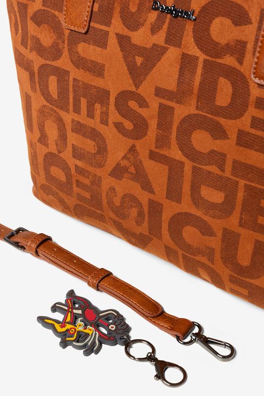 Shoppingbag zum Umhängen Logomania   Desigual