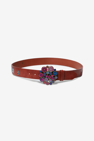 Mandalas buckle belt