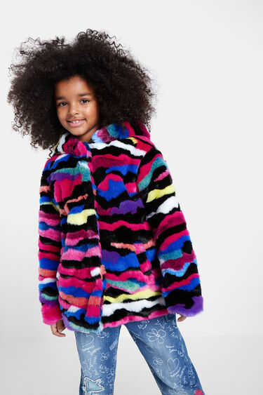 Plush jacket colours | Desigual