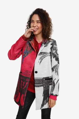 Mantel mit Print