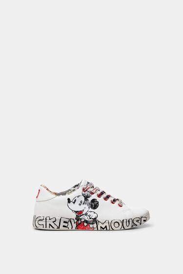 Sneakers met Mickey Mouse-illustratie | Desigual
