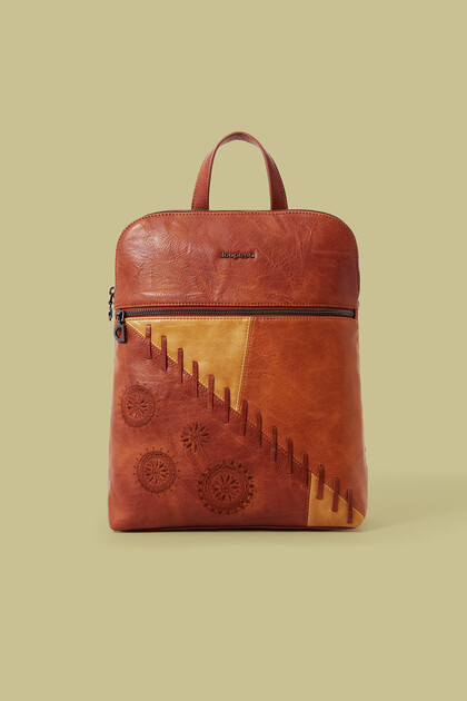 Plecak ze sztucznej skóry w mandale