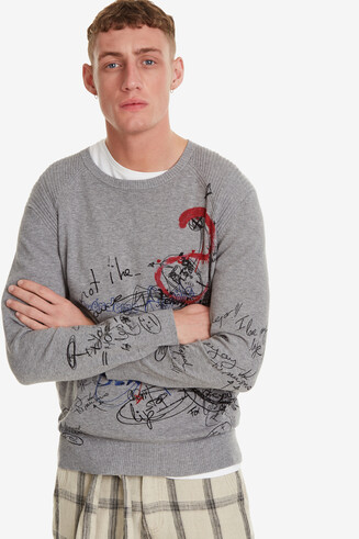 Bolimania Grey Jumper Ian