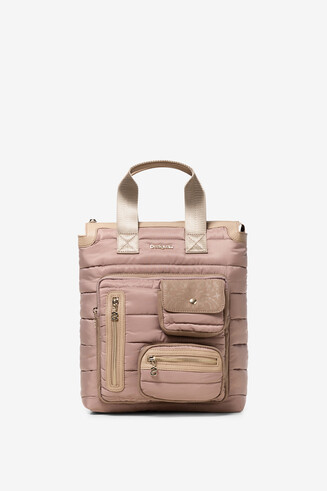 Padded Beige Backpack Maldivas