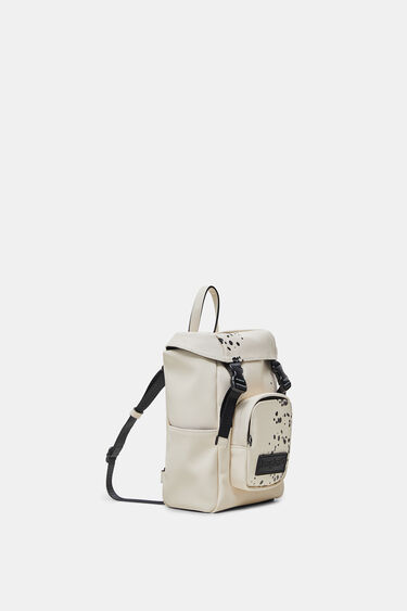 Small arty canvas backpack | Desigual
