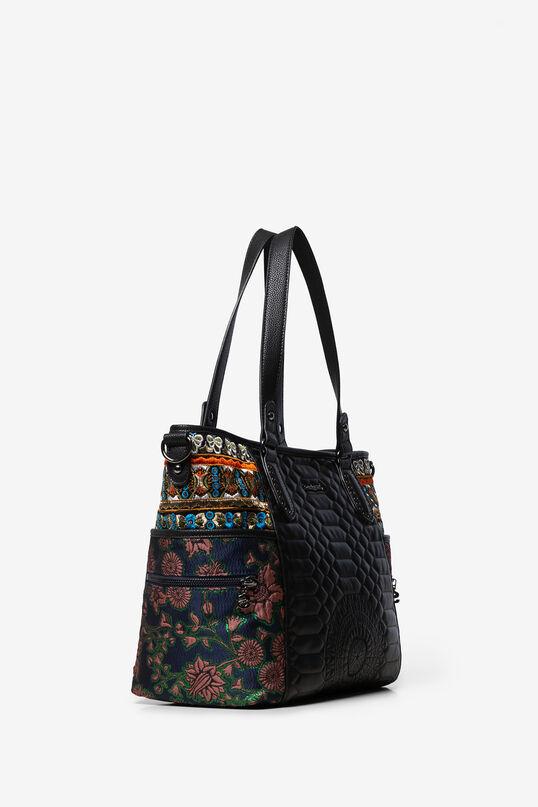 Shopping bag lati ricamati | Desigual