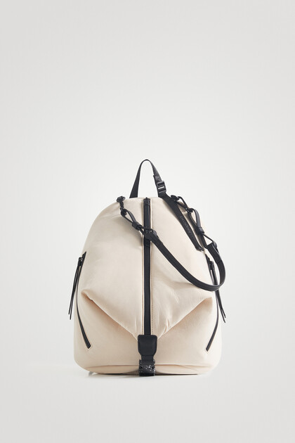 Multiposition soft backpack