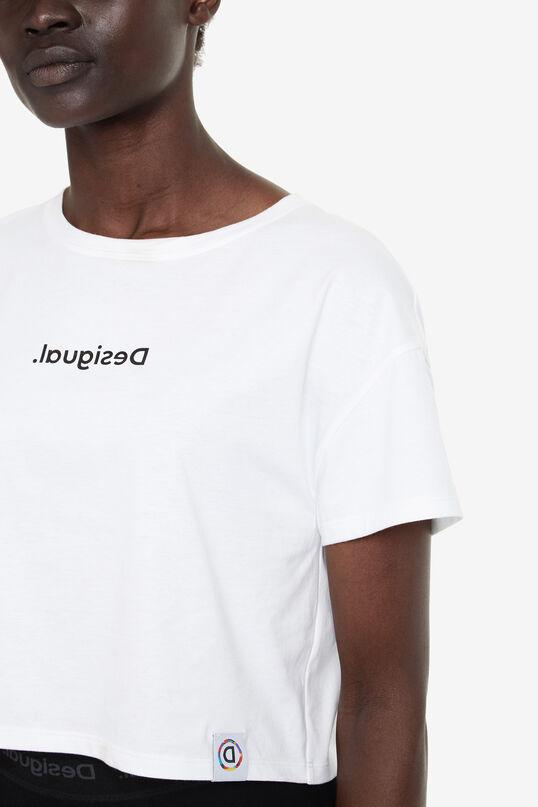 New Desigual logo crop top | Desigual