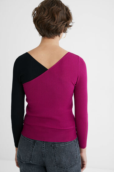 Slim V-neck jumper | Desigual