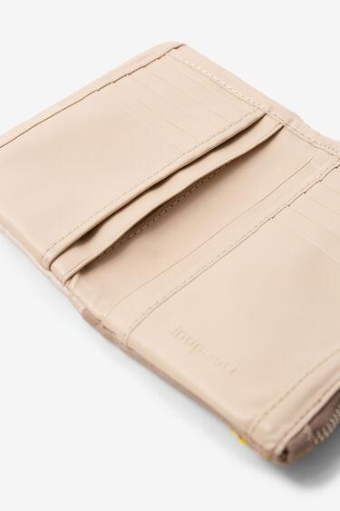 Portemonnaie mit Mandala-Stickereien | Desigual