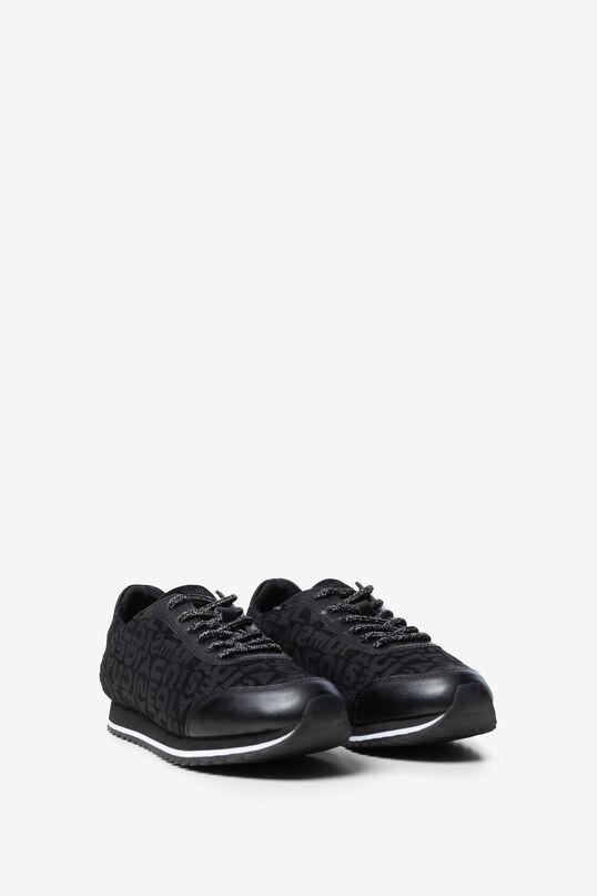 Khakifarbene Logomania-Sneakers | Desigual
