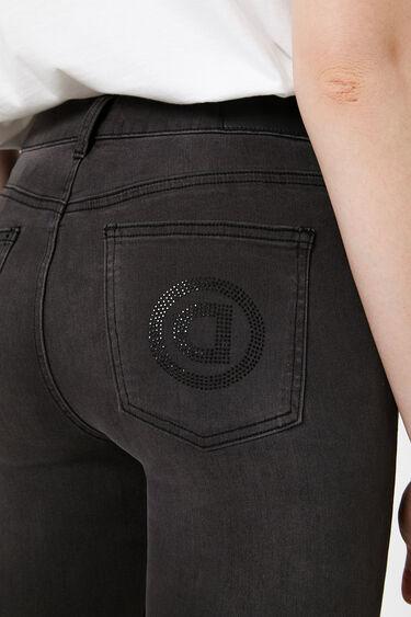 Skinny jeans beads | Desigual