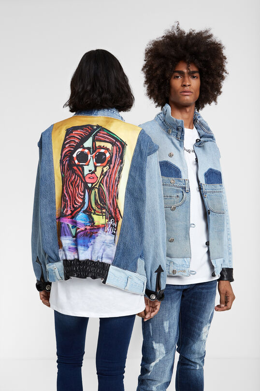 """Iconic jacket """"Chica Picasso"""" 