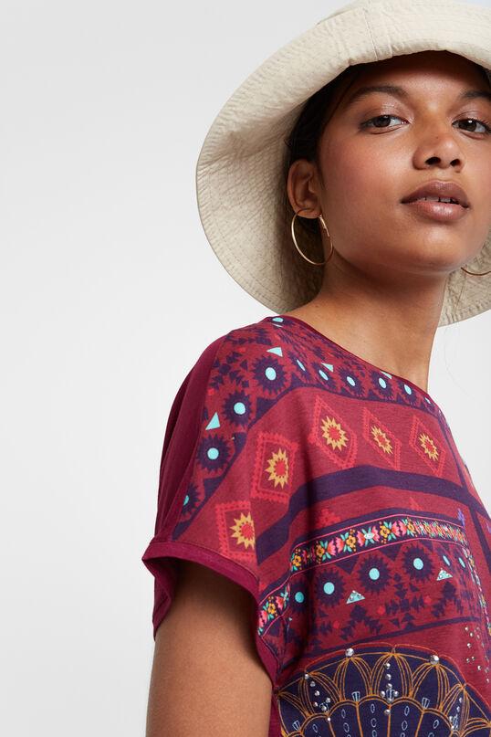 Shirt mit Ethno-Bordüren | Desigual