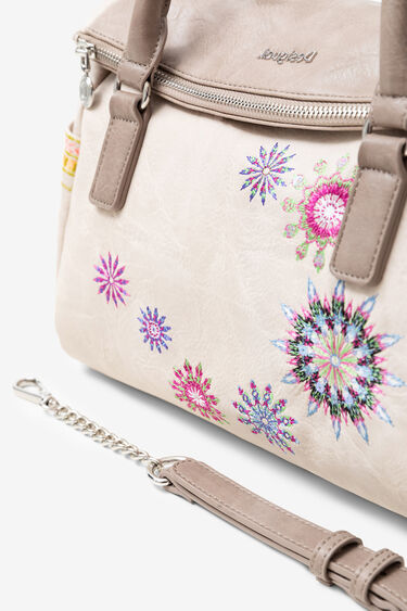 Handbag embroidered mandalas | Desigual