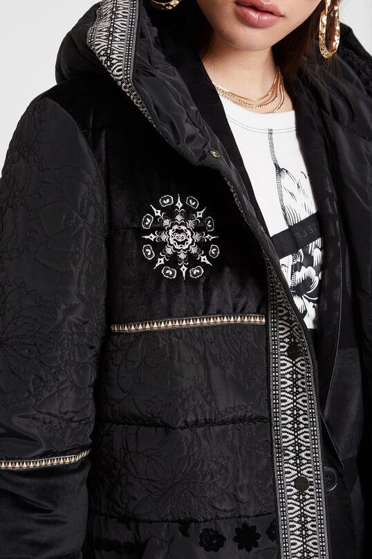 Boho padded coat | Desigual