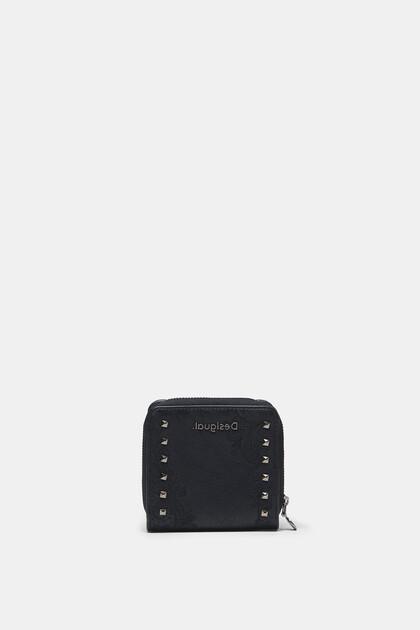 Portemonnee met boho-borduursels