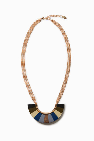 Collier Wood Blue