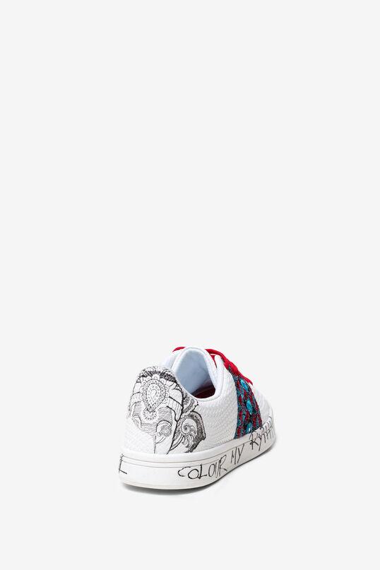 Sneakers Cosmic Exotic Tropical | Desigual