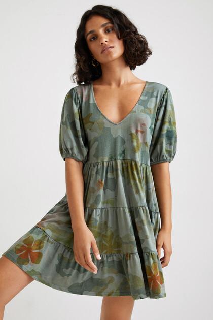 Korte loose fit jurk