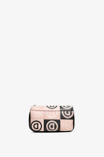 Bossa de patchwork en logomania | Desigual