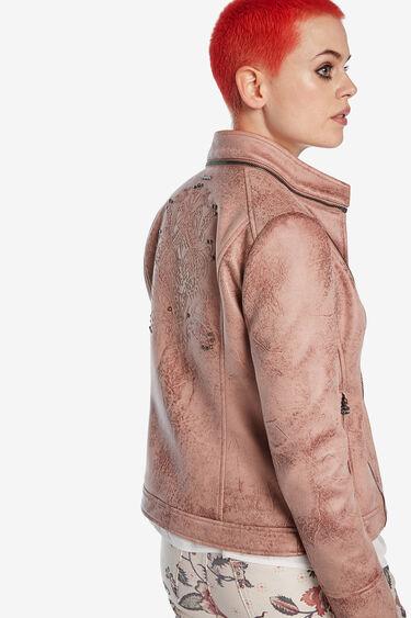 Jaqueta biker rosada | Desigual